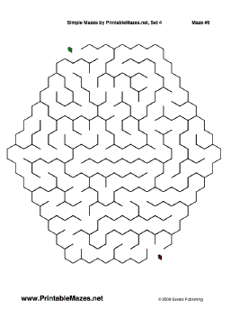 "Simple Mazes Set 4 — ""It's A Snap"" maze"