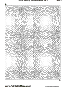 "Difficult Mazes Set 5 — ""Taxing"" maze"