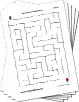 "Easy Mazes Collection — ""No Troubles"" maze"