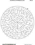 "Easy Mazes Set 3 — ""No Problem"" maze"