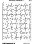 "Medium Mazes Set 3 — ""Relaxed"" maze"
